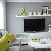 Acid green home decor