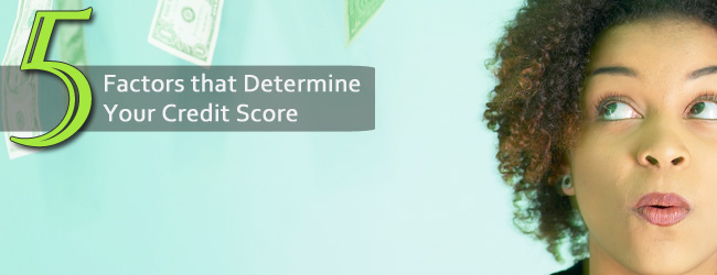 The Five Factors That Calculate Credit Score