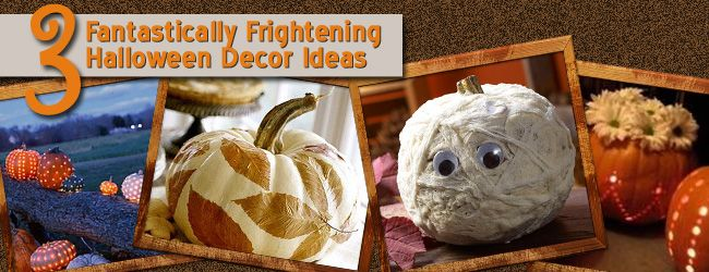 Festive & Frightening! 3 Unique Halloween Decor Ideas!