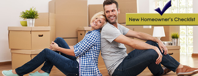 Keeping New Homeowners in Check: 10 Tasks for a Happy Move-in