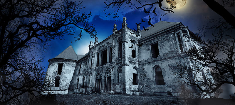"""Five Frighteningly-Fantastic """"Haunted Houses"""" in the 'Burgh"""