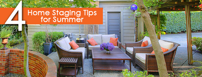 Make a Buyer's Summer Love Last with Summer Home Staging Tips